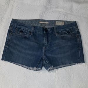 Gap jean shorts size 8 limited edition denim